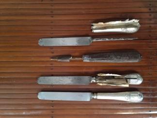 couteau-argent-argenterie-or et compagnie