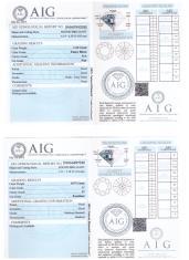 exemple certificat diamant - or et compagnie