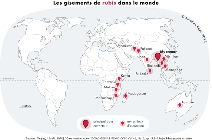 Rubis_gisements - or et compagnie